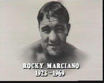 《☆伝説のボクサー!ロッキー・マルシアーノ》…最終章〜「永遠なれ!」