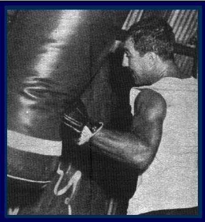 ☆映画『ロッキー』の題材となった伝説の世界王者!ロッキー・マルシアーノ/Rocky Marciano(1923〜1969)の写真集☆〜其の3