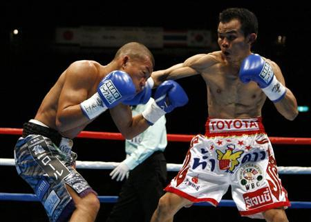 《WBC世界フライ級タイトルマッチ/王座統一戦》3月27日/有明コロシアム