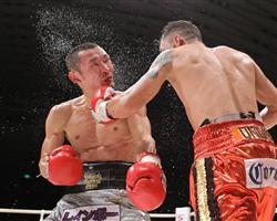 《WBA世界S・フライ級王者/名城信夫(六島)〜王座陥落!》5月8日/大阪府立体育会館