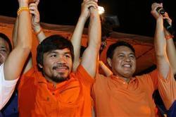 《フィリピンの英雄!マニー・パッキャオ二度目の立候補で晴れて下院議員選挙当選!》5月11日各紙発表 [No.165]